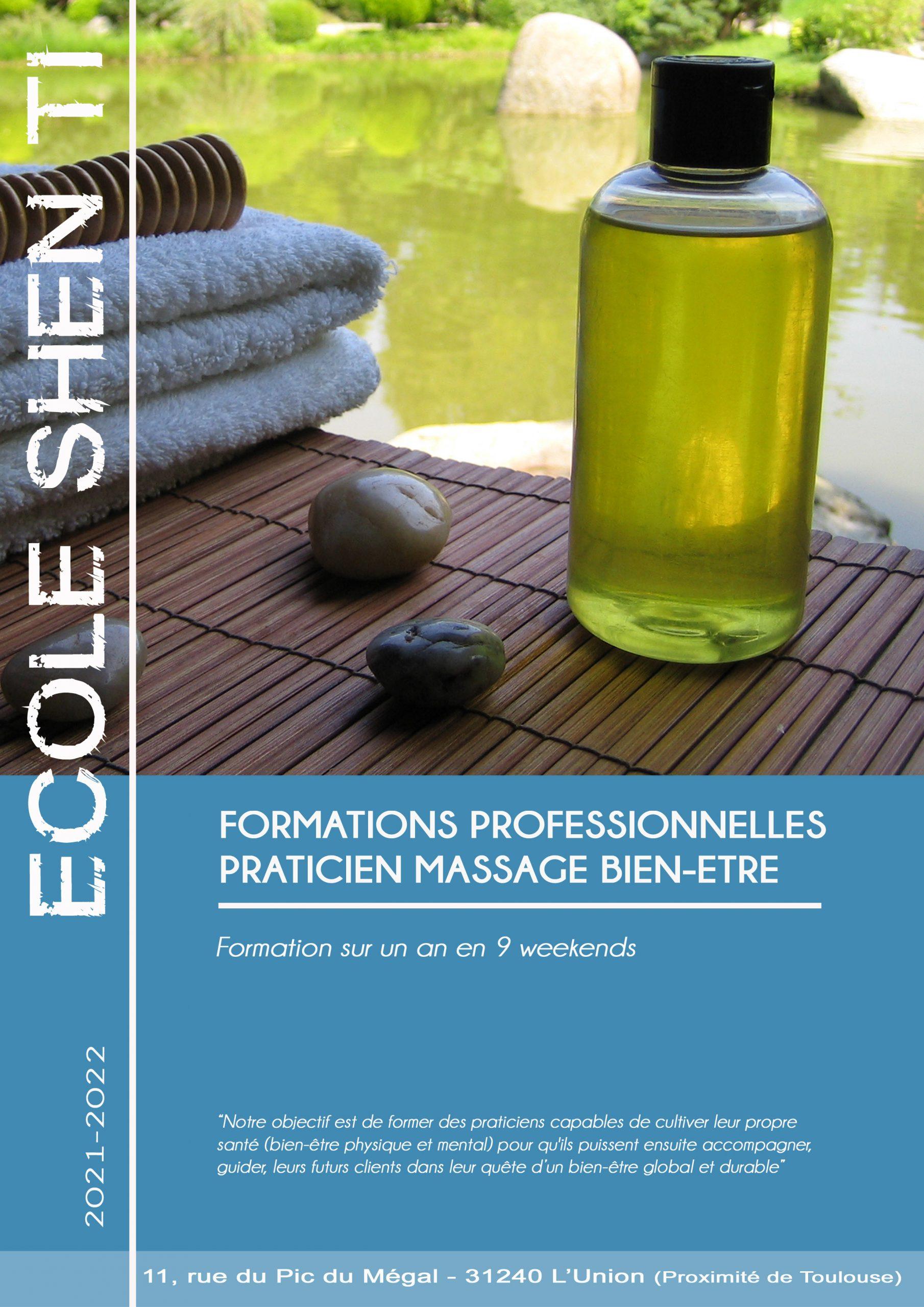 formation massage bien-être toulouse